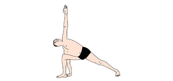 90%人都不知道,侧角伸展式的正确打开方式